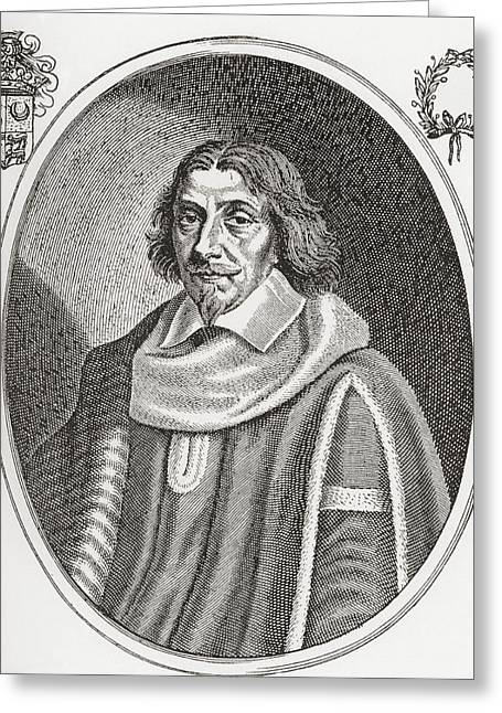 Magistrates Greeting Cards - Henri De Mesmes, Lord Of Roissy Greeting Card by Ken Welsh