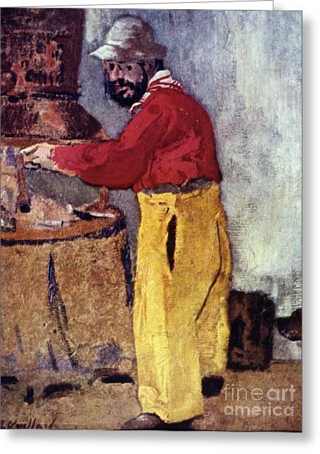 Henri De Toulouse-lautrec Greeting Card by Granger