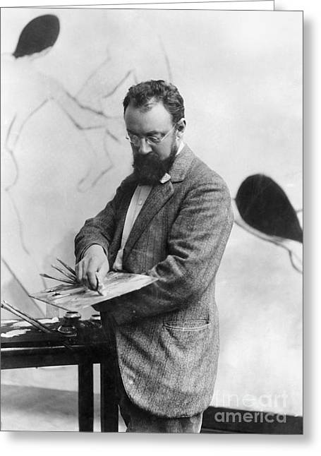 Henri Matisse Greeting Cards - Henri Matisse (1869-1954) Greeting Card by Granger