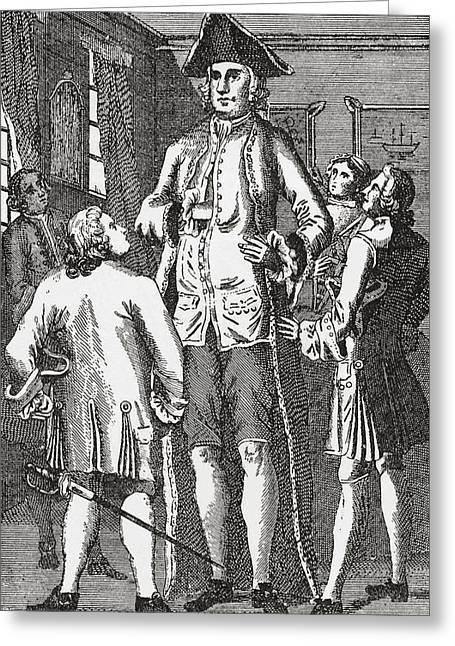 Height Drawings Greeting Cards - Henry Blacker, 1724 -   Aka The British Greeting Card by Vintage Design Pics