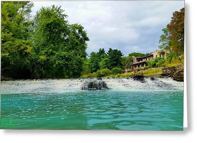 Williams Dam Greeting Cards - Henry Ford Estate - Fair Lane Greeting Card by Michael Rucker