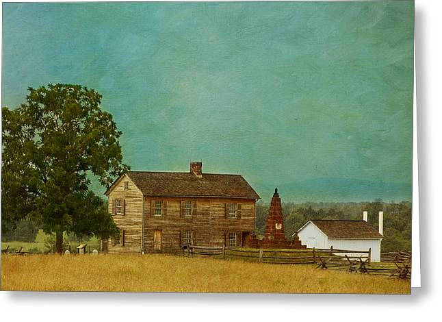 Best Sellers -  - Kim Photographs Greeting Cards - Henry House at Manassas Battlefield Park Greeting Card by Kim Hojnacki