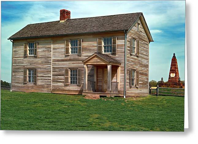 Historic Home Greeting Cards - Henry House Hill  Greeting Card by Don Lovett