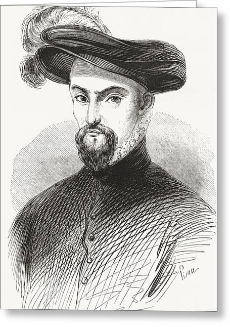 Guise Greeting Cards - Henry I, Prince Of Joinville, Duke Greeting Card by Ken Welsh