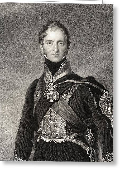 4th Drawings Greeting Cards - Henry William Paget 1st Marquess Of Greeting Card by Ken Welsh