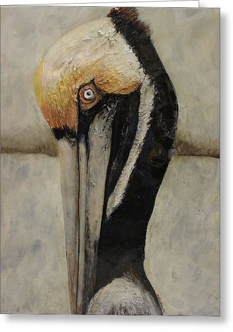 Snorkel Mixed Media Greeting Cards - Heres looking at You Greeting Card by Maria Boudreaux