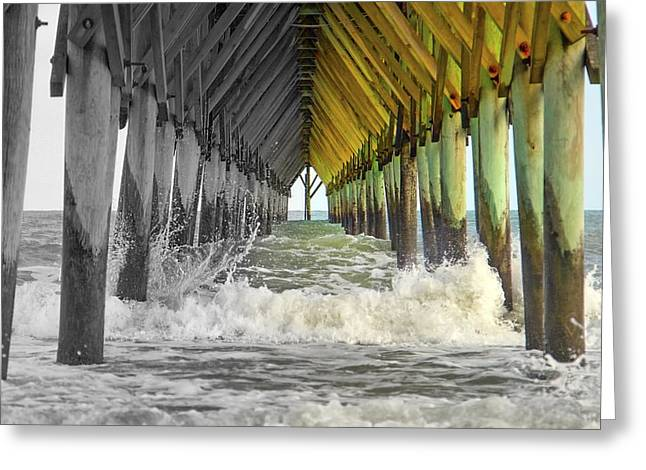 Glowing Greeting Cards - Heres Your Light at the End of the Tunnel Greeting Card by Betsy C  Knapp