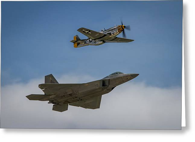 Rockford Greeting Cards - Heritage Flight Greeting Card by Mike Burgquist