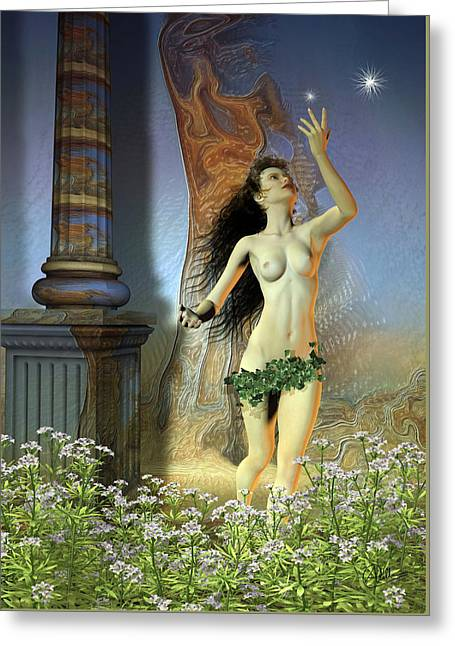 Lady Diana Greeting Cards - Heroine Atalanta Forest Greeting Card by Joaquin Abella