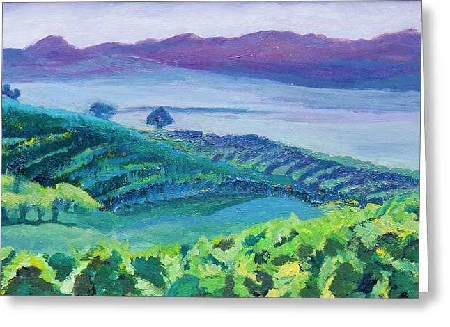 Winelands Greeting Cards - Heuningland Greeting Card by Jillian Goldberg