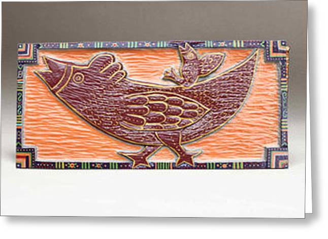 Americana Reliefs Greeting Cards - Hi-oh Silver Away Greeting Card by James Neill