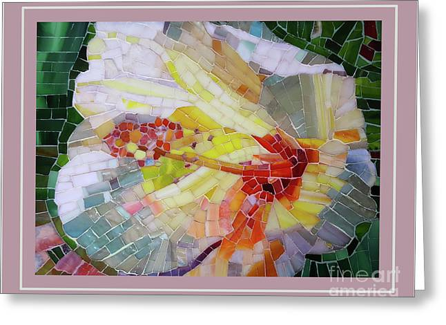 Hibiscus #3 Greeting Card by Adriana Zoon