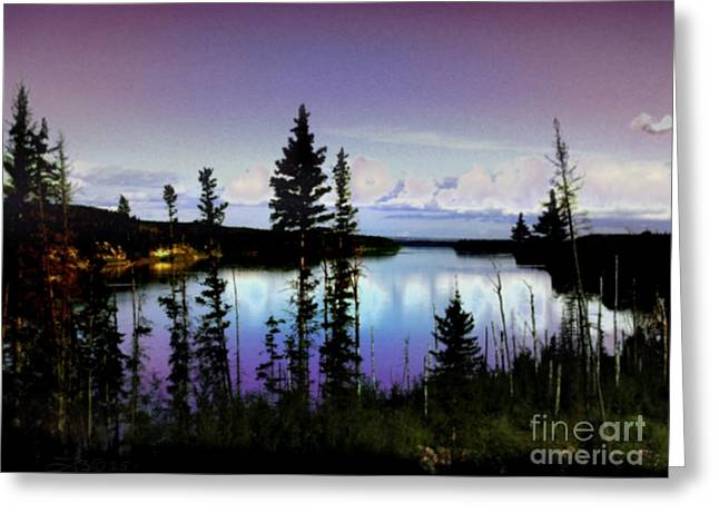 Featured Art Greeting Cards - Hidden Paradise Greeting Card by TLynn Brentnall