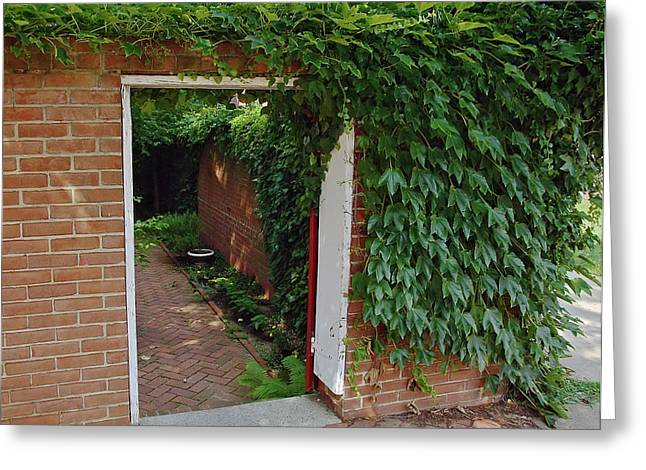 Ivy Corners Greeting Cards - Hidden Sanctuary Greeting Card by Brian Wallace