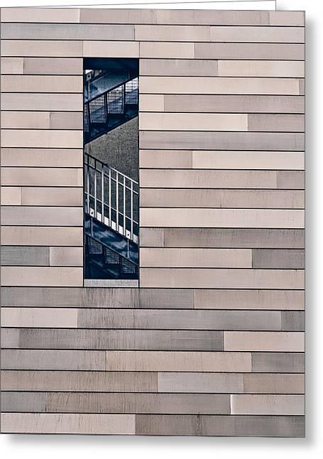 Hidden Stairway Greeting Card by Scott Norris