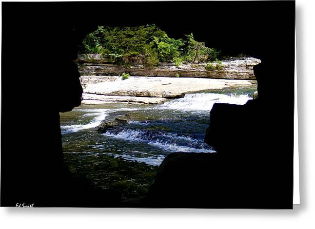 Indiana Rivers Digital Greeting Cards - Hide Away Greeting Card by Ed Smith