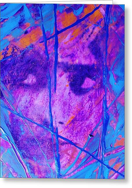 Police Mixed Media Greeting Cards - Hide Me Greeting Card by Richard Ray