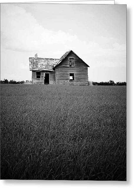 Haunted Barn Greeting Cards - Hide with Me Greeting Card by Jerry Cordeiro