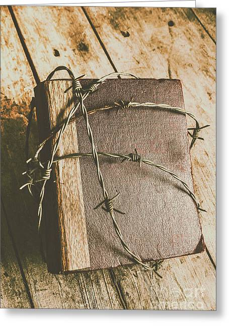 Hiding Truth Greeting Card by Jorgo Photography - Wall Art Gallery