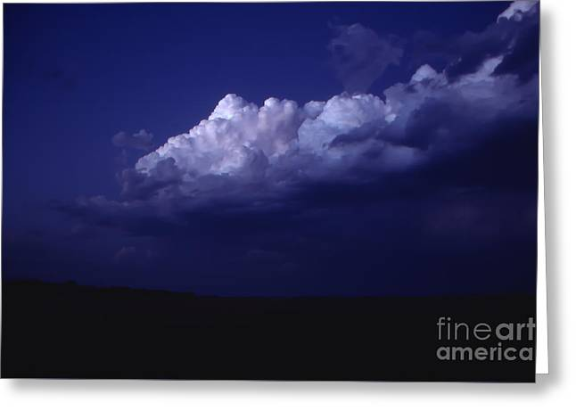 Sunset Greeting Cards Greeting Cards - High Clouds After Sunset Greeting Card by Lowell Anderson