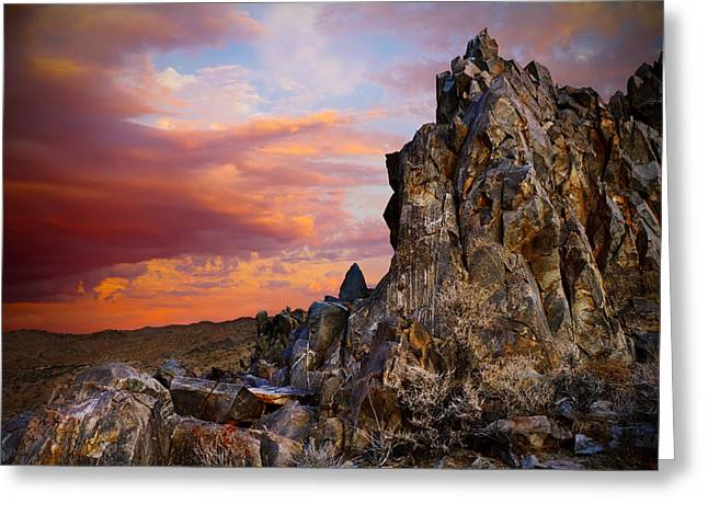 Mike Hill Greeting Cards - High Desert Beauty Greeting Card by Mike Hill