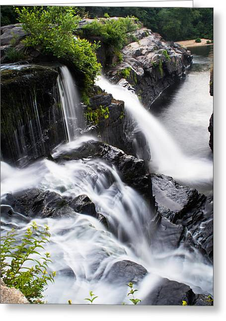 Falling Water Creek Greeting Cards - High Falls Park Greeting Card by Parker Cunningham