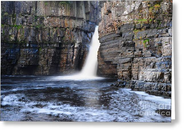 High Force Greeting Card by Stephen Smith