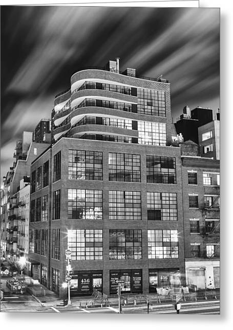 High Line Greeting Cards - High Line View Greeting Card by Mike Lang