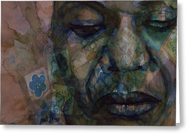 High Priestess Of Soul  Greeting Card by Paul Lovering