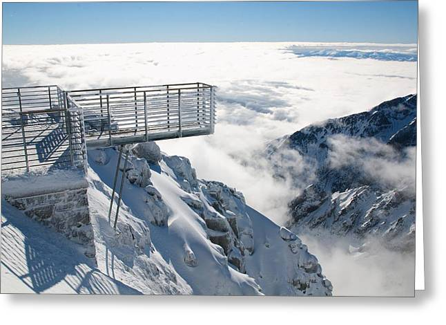 Inversion Digital Art Greeting Cards - High Tatras 3 Greeting Card by Martin Navratil