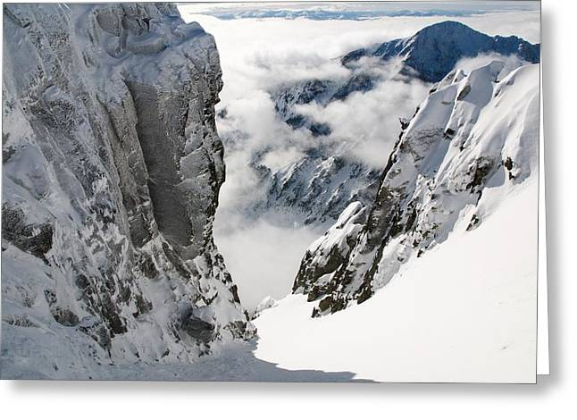 Inversion Digital Art Greeting Cards - High Tatras 5 Greeting Card by Martin Navratil