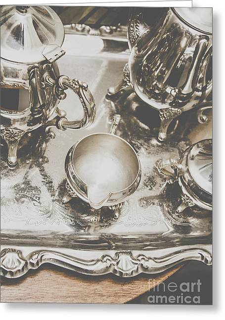 High Tea Party Greeting Card by Jorgo Photography - Wall Art Gallery
