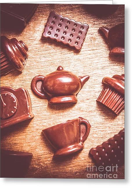 High Tea Snacks Greeting Card by Jorgo Photography - Wall Art Gallery