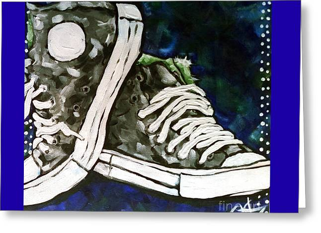 High Top Heaven Greeting Card by Jackie Carpenter