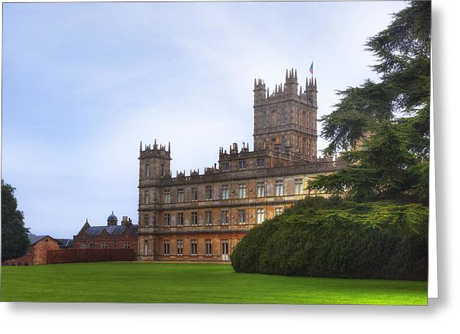 Highclere Castle Greeting Card by Joana Kruse