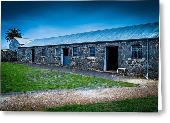 Canon 6d Digital Art Greeting Cards - Highfield Stables Greeting Card by Keith Hawley