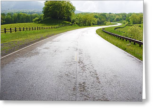 Highland Scenic Highway Route 150 Greeting Card by Thomas R Fletcher