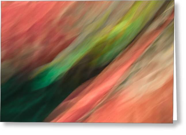 Abstract Waves Greeting Cards - Elation Greeting Card by Mah FineArt
