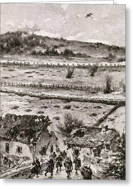 Ypres Greeting Cards - Hill 60 On The Southern Flank Of The Greeting Card by Vintage Design Pics