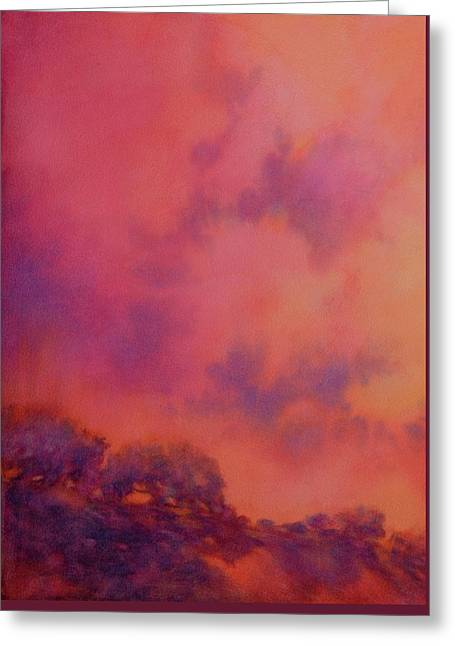 Hill Country Skies No 1 Greeting Card by Virgil Carter