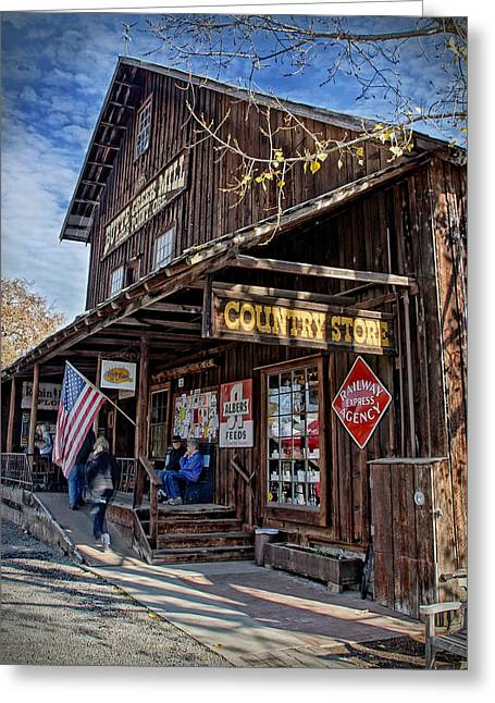 Historic Butte Creek Mill Greeting Card by Mick Anderson