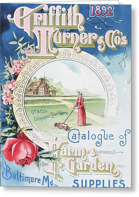 Catalog Greeting Cards - Historic Griffith Turner   Co Catalog Greeting Card by Remsberg Inc