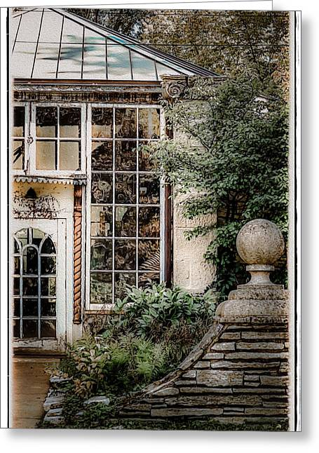 Evanston Greeting Cards - Historic Grosse Point Greeting Card by Julie Palencia