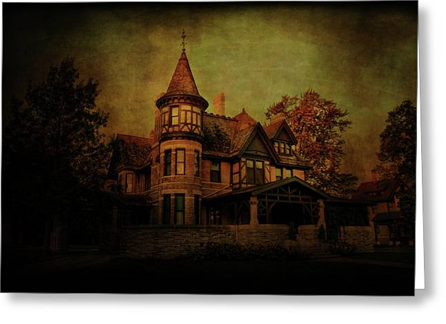 Historic House Greeting Card by Joel Witmeyer
