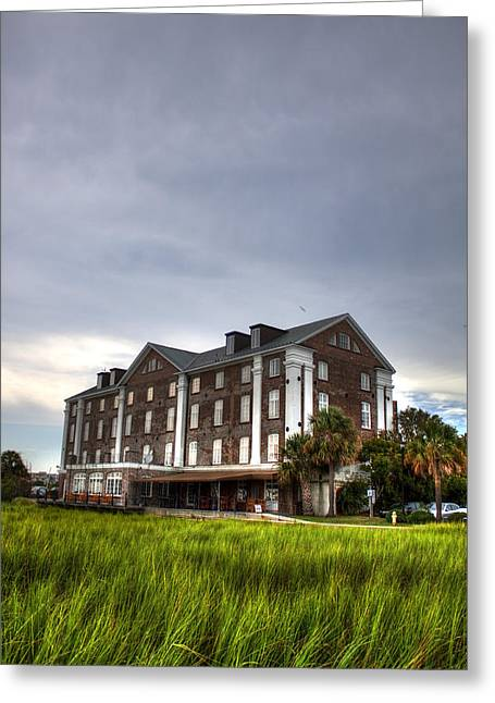 Historic Rice Mill Building Greeting Card by Dustin K Ryan