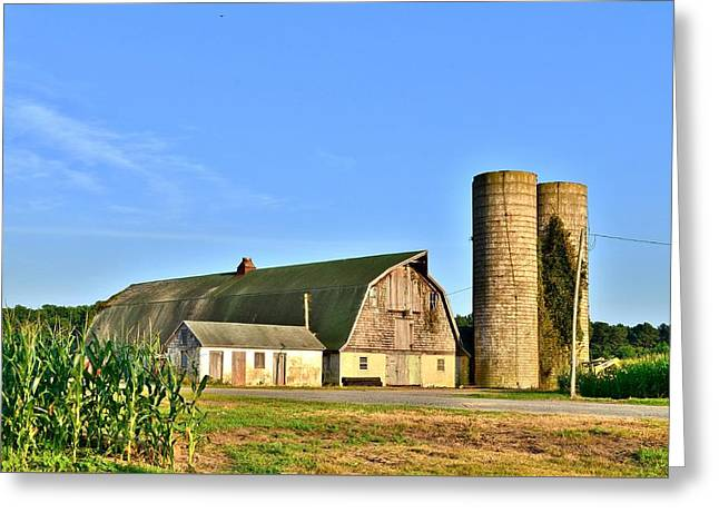 Kim Photographs Greeting Cards - Historic Townsend Barn - Lewes Delaware Greeting Card by Kim Bemis