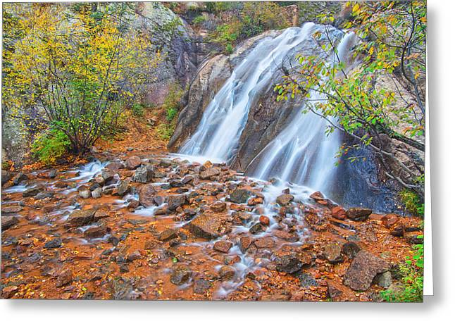 Historic Site Greeting Cards - Historic Waterfall Greeting Card by Bijan Pirnia