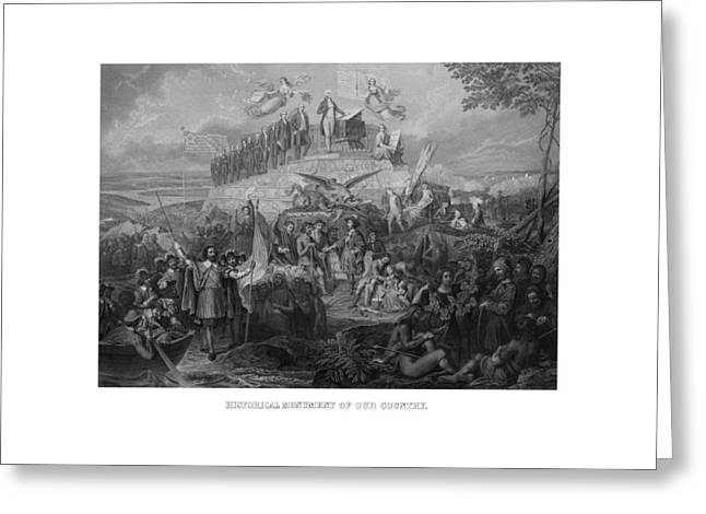 Historical Monument Of Our Country Greeting Card by War Is Hell Store