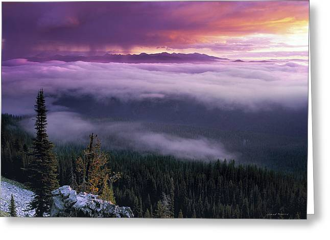 Mystic Art Greeting Cards - Historical Wilderness View Greeting Card by Leland D Howard