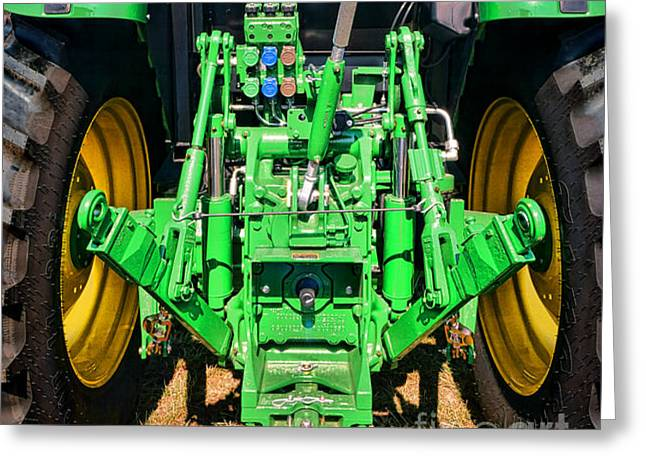 Connector Greeting Cards - Hitch a Deere  Greeting Card by Olivier Le Queinec
